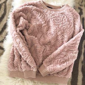 Super soft blush sweatshirt